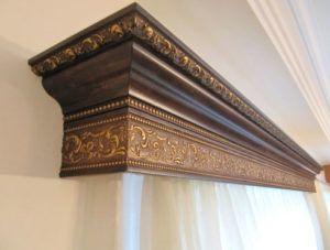 Карниз деревянный от студии штор Магия в Харькове (1)